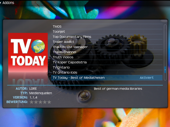 TV Today - Kodi-Repo